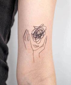 Minimalist Tattoo Small, Minimalist Tattoo Meaning, Minimal Tattoo, Disney Minimalist, Cute Tattoos For Women, Tattoos For Guys, Unique Women Tattoos, Henne Tattoo, Tattoos Geometric