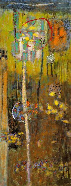 """rickstevensart:  Passing Through Time oil on canvas   48 x 19""""   2015Rick Stevens 2015"""