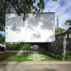 Gallery - Lima Duva Resort / IDIN Architects - 14_the Architect try to honour nature with holes for trees on the facade