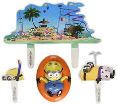 Despicable Me Beach Party DecoSet Cake Decoration -- Read more reviews of the product by visiting the link on the image.