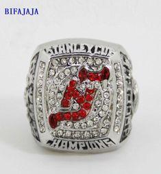 BIFAJAJA Drop Shipping 2003 baru Jersey Devils Stanley cup Size 11  championship rings  Champion Statement