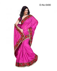 Stutti Fashion Exclusive Pink Color Saree At Rs.1799