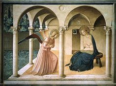 """Florence is the center of the world. San Marco is the center of Florence, and the Annunciation by Blessed Angelico frescoed there is the center of San Marco. Therefore the Annunciation is the center of the world."""