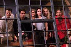With Jennifer Aniston, Courteney Cox, Lisa Kudrow, Matt LeBlanc. Friends Tv Show, Tv: Friends, Serie Friends, Friends Scenes, Friends Leave, Friends Cast, Friends Moments, Chandler Friends, Chandler Bing