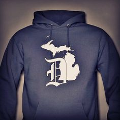 Michigan D!  Available at www.downwithdetroit.com