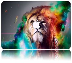 Colorful Lion Artistic Wall Art Painting The Picture Print On Canvas Animal Pictures For Home Decor Decoration Gift *** Visit the image link more details. (This is an affiliate link) Lion Hd Wallpaper, Cool Wallpaper, Trippy Wallpaper, Animal Wallpaper, Mobile Wallpaper, Hipster Wallpaper, Colorful Wallpaper, Wallpaper Ideas, Nature Wallpaper