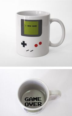 Coffee mug - Game over -