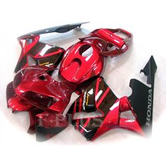 Aftermarket Fairings For Honda CBR600RR 05-06 Red and black  ABS Kits 2005 2006