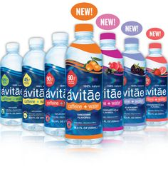 Go Avitae! | Caffeine + Water