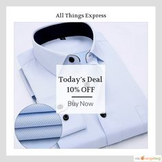 Today Only! 10% OFF this item.  Follow us on Pinterest to be the first to see our exciting Daily Deals. Today's Product: Twill Men Dress Shirt Buy now: http://www.allthingsexpress.com/products/twill-men-dress-shirt?utm_source=Pinterest&utm_medium=Orangetwig_Marketing&utm_campaign=Untitled%20Daily%20Deal%2028th%20April #musthave #loveit #instacool #shop #shopping #onlineshopping #instashop #instagood #instafollow #photooftheday #picoftheday #love #OTstores #smallbiz #sale #dailydeal…