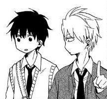 Hanae and Itsuki   Fukigen Na Mononokean #aychan-orimangacrop