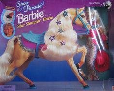 Show-Parade-Barbie-with-her-Star-Stampin-Horse-1997