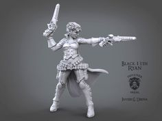 Gunmage unit sculpted for Privateer press for their wargame Warmachine/Hordes. I loved to resculpt this iconic unit.