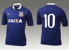 Camisa azul Corinthians (Foto  Reprodução da internet) - Será  5159768c67bdc