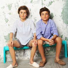 Camisas mao!!! Nuestras preferidas!!! http://www.nicoli.es/tienda/mini/nino/Camisas/