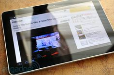 Samsung Galaxy Tab 10.1   Slimmer than iPad 2, fantastic build quality, latest android Honeycomb, very mouth-watering, $499++
