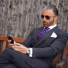 """Mens Fashion on Instagram: """"Mr. @christopherkorey of @koreyfrancois…"""