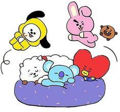 K Pop Boy Band, Bts Group Photos, Bts Drawings, Bts Chibi, Kpop Fanart, Bts Lockscreen, Painting For Kids, Foto Bts, Bts Taehyung