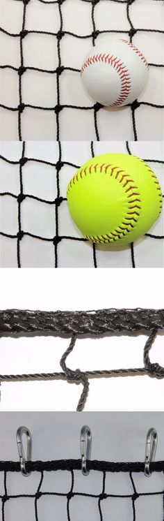 Batting Cages and Netting 50809: #42 - 12 X 50 Heavy Duty Impact Net Panel For Sports W 20 Carabiners -> BUY IT NOW ONLY: $105 on eBay!