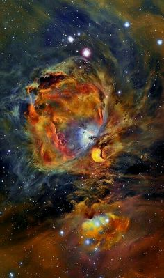 Orion Nebula in Oxygen, Hydrogen, and Sulfur Image Credit Copyright: César Blanco González The Orion Nebula spans about 40 light years is about 1500 light years away in the same spiral arm of our Galaxy as the Sun. The Great Nebula in Orion Cosmos, Space Photos, Space Images, Nasa Space Pictures, Nasa Photos, Hubble Space Telescope, Space And Astronomy, Planetary System, Orion Nebula
