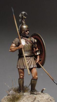 Completed - Greek Hoplite, VII c. BC