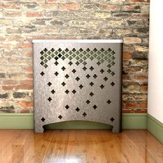 CASA Fall Galvanised 2 Radiator Cover for a different kind of sparkle