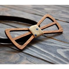 Wedding Wooden Bow Tie Rustic Groomsmen gift Best Man Wood bowtie Gift Man Dad Father Boss