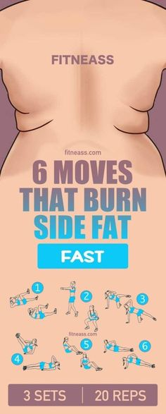 6 Exercises to Lose Your Love Handles
