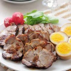 鍋まかせで簡単に柔らかい煮豚が出来上がります!