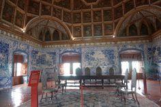 Sintra, Palacio Nacional, Azulejos, Thronsaal, Ahnensaal