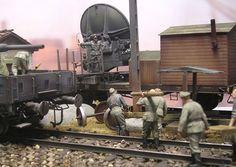 """Würzburg Flakzug"" 1/35 scale. By Andreas Coenen. German gun laying radar. #scale_model #diorama #WW2"