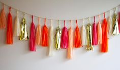 Coral Crush Tassel G