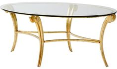 awesome Glass and Metal Coffee Table by Barbara Barry - 3554 by http://www.top-homedecor.space/coffee-tables-and-accent-tables/glass-and-metal-coffee-table-by-barbara-barry-3554/