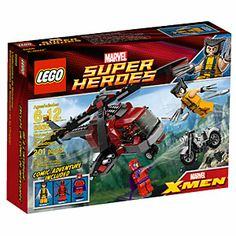 LEGO® Marvel Super Heroes Wolverine's™ Chopper Showdown
