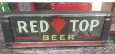 Redtop beer sign
