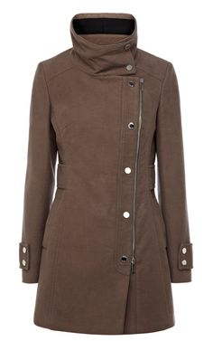 Signature moleskin coat | Luxury Women's coats | Karen Millen, £210