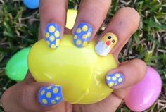 8 Easy Easter Nail Tutorials That Don't Require A Trip To The Salon — VIDEOS