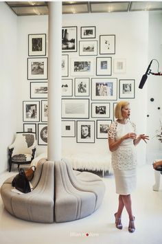 Fashion designer Lela Rose's Tribeca Loft apartment