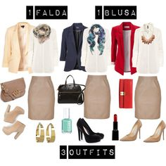 """outfits for the office"" by pamsalas on Polyvore"