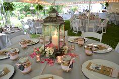 #silver #lantern #ornate #flowers #centerpiece #wedding #ceremony #reception flowers decor by Creationsbydebbie.net in Nashville