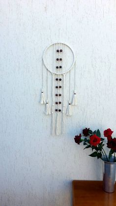 Check out this item in my Etsy shop https://www.etsy.com/listing/231313734/macrame-wall-hanging-bohemian-decor-rope