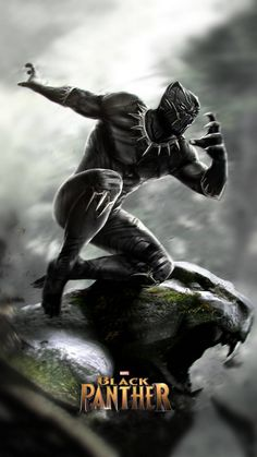 black panther wallpaper by dathys - 54 - Free on ZEDGE™ Black Panther Marvel, Black Panther Images, Black Panther 2018, Marvel Comics Art, Marvel Comic Universe, Marvel Heroes, Marvel Avengers, Arte Do Hulk, Marvel Characters