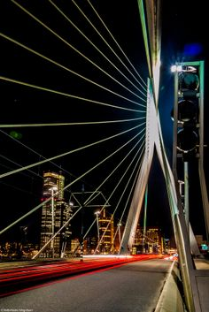 Erasmusbridge, Rotterdam (LUMIX GF1)