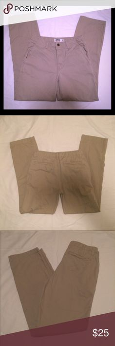 NWOT boys Urban Pipeline khakis NWOT boys Urban Pipeline khakis size 18. Bought these for my son and he never wore them. They've been hanging on a hanger so there's some creasing, but just need ironed or put in the dryer. They have an adjustable waistband. Perfect condition! Urban Pipeline Bottoms Casual