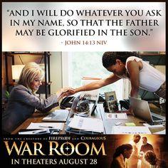 War Room: Kendrick Brothers Christian Movie/Film - Banner 9