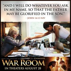 War Room: Kendrick Brothers Christian Movie/Film - Banner 9