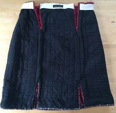 How to make a little french skirt: A Challenging Sew