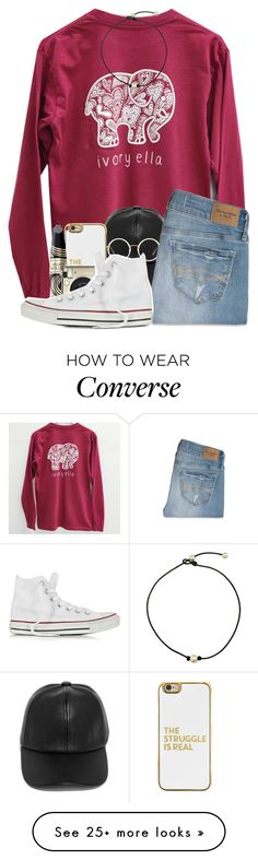 """☼:;get to know me better tag"" by glitter-in-my-hair on Polyvore featuring LULUS, Linda Farrow, Abercrombie & Fitch, BaubleBar, Max Factor, Converse, country and edensets"