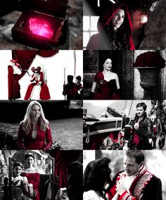 "Red - color of passion, lust, blood, love ""Once Upon a Time"""