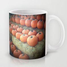 Pumpkins+On+Display+Mug+by+Judi+FitzPatrick+-+$15.00